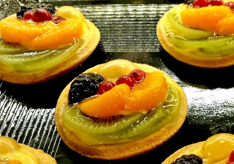 Crostatine fructe