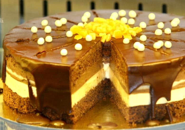 Tort Golosa ciocolata si portocale